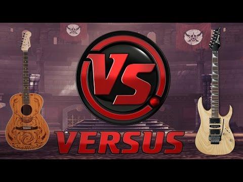 diferencia entre guitarra eléctrica y acústica