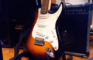 guitarra electrica foto