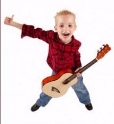 guitarra niño