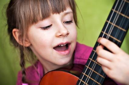 guitarra niños