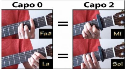 cejilla para guitarra