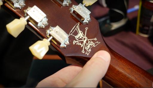 guitarra slash goldtop