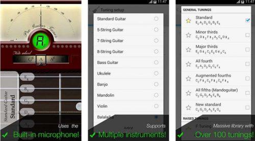 Pro Guitar Tuner app