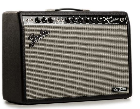 Fender Tone Master Deluxe Reverb lateral derecho