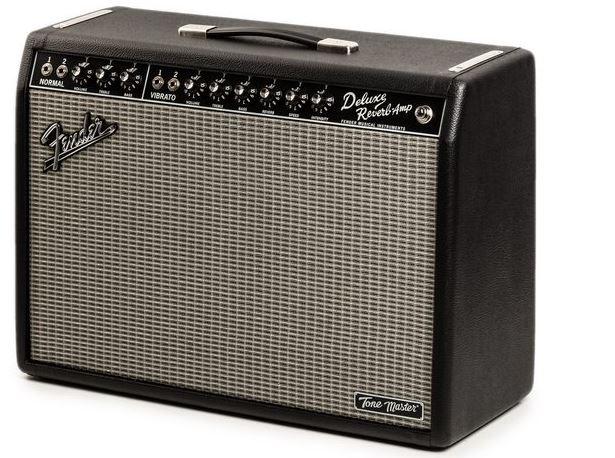 Fender Tone Master Deluxe Reverb lateral izquierdo