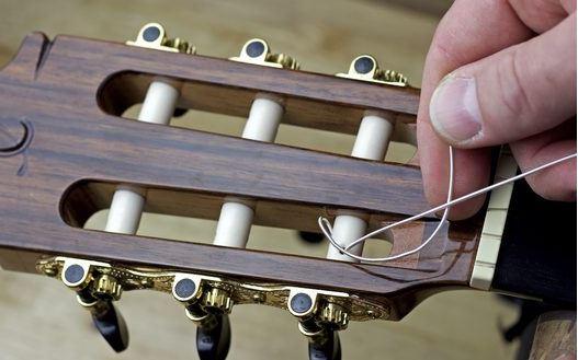 Cambio de cuerdas 7