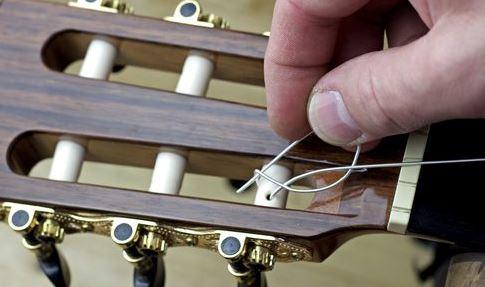 Cambio de cuerdas 8